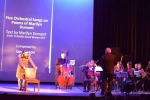An image from The Muskoka Concert Association's Voice of a Nation concert